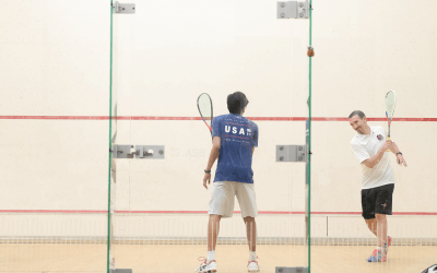 Jeffrey Archer and his contribution to the world of Squash